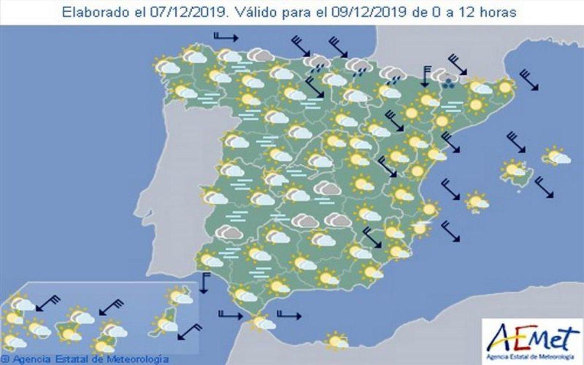 Aemet Pronostico Del Tiempo En Toda Espana Hoy 1 De Febrero De 2020