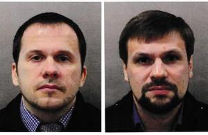 Alexander Petrov y Ruslan Boshirov, los dos rusos acusados por el Reino Unido por el caso Skripal.