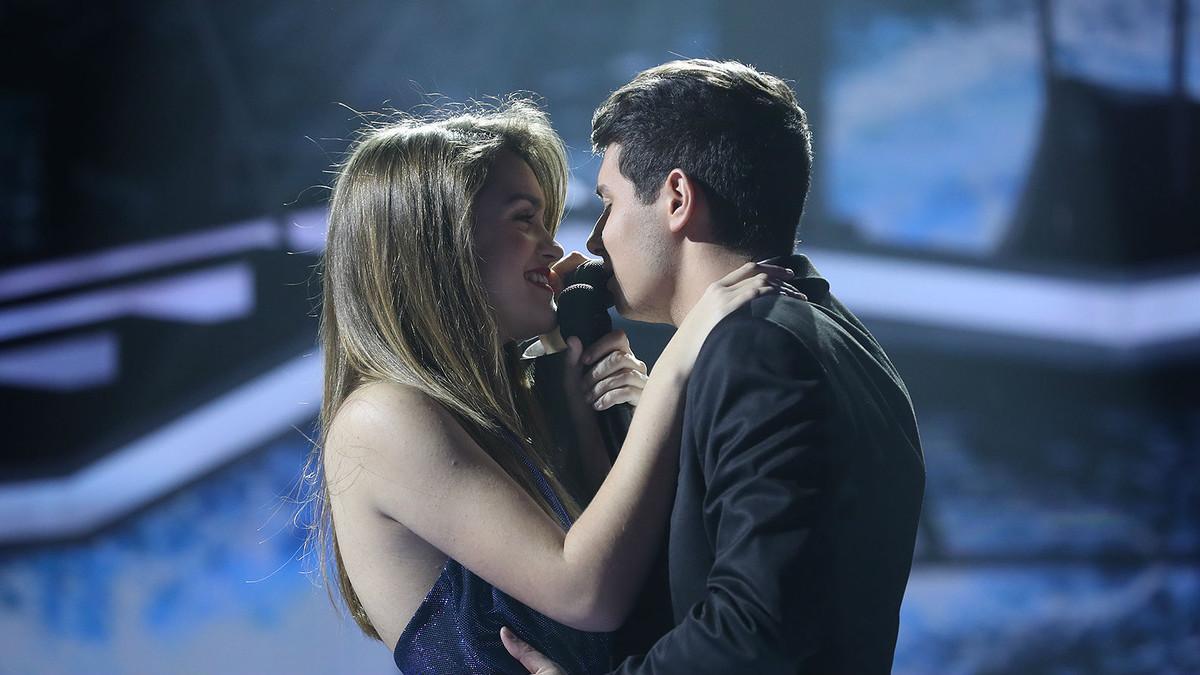 Alfred declara el seu amor a Amaia a la gala 'OT: la fiesta'