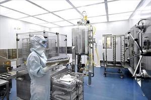 Un aspecto de un laboratorio de Reig Jofre en Barcelona.