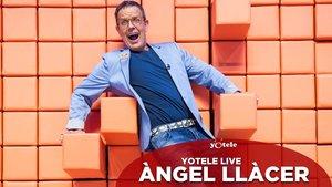 Àngel Llàcer, presentador de 'Bloqueados por el muro'.