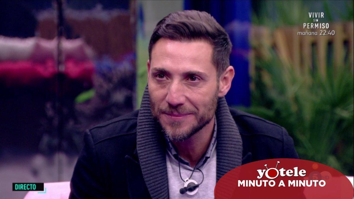 Antonio David, primer expulsado de 'El tiempo del descuento'.