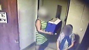 Captura del vídeo que ha difundido la policía catalana.