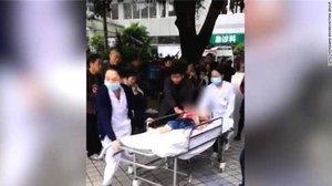 El suceso se produjo en una guardería del distrito de Banan.
