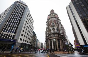 La antigua sede de Banco de Valencia, actualmente propiedad de CaixaBank.