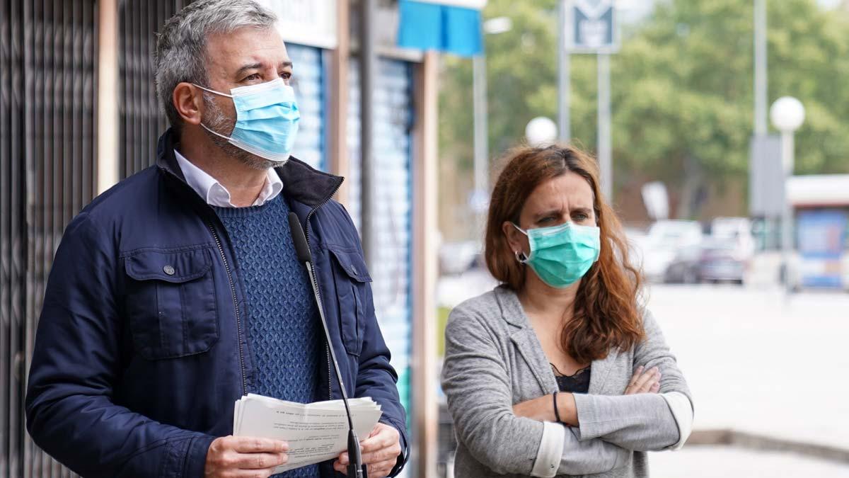 Barcelona lanza un plan de choque para los barrios más afectados por el coronavirus, como explica Jaume Collboni.
