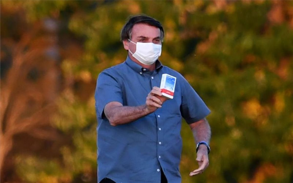 El presidente de Brasil, Jair Bolsonaro, recuperado de la COVID-19.