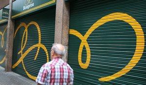 Un establecimiento de Bon Preu en Barcelona, antes de abrir.