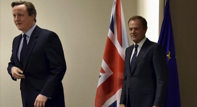 Cameron pone el 'Brexit' sobre la mesa de la UE