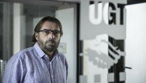 Entrevista con el secretario general de UGT de Catalunya, Camil Ros.