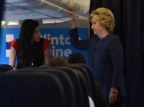 La candidata presidencial Hillary Clinton.