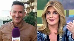L'enganxada de Carlota Corredera a un reporter de 'Sálvame' per un micro obert