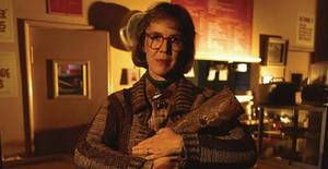 Catherine Coulson, en una imagen de 'Twin Peaks'.