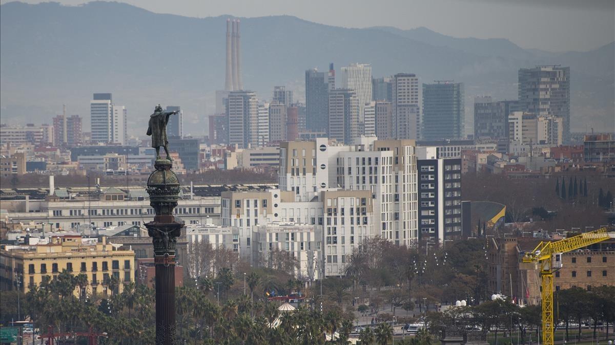 Monumento a Cristóbal Colón.