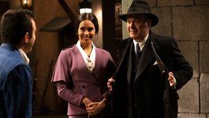 Cristina Pedroche y Roberto Brasero, en el final de 'El secreto de Puente Viejo'.