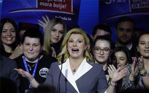 Kolinda Grabar-Kitarovic, presidenta de Croacia.