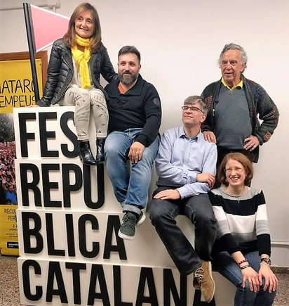 Anna Brun, Marc Planagumà, Marc pursals, Joan Codina y Gisela Perez.