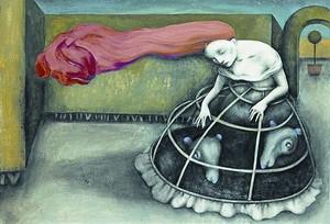 Dibujo de Ana Juan para Otra vuelta de tuerca, de Henry James.