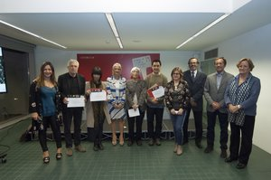 Entrega de premios de la 19a Bienal de Cerámica de Esplugues