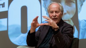 El escritor estadounidense Richard Ford, este viernes en Barcelona.