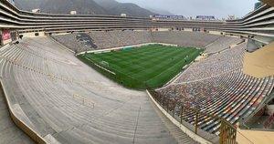 El estadio Monumental de Lima con capacidad para 80 mil personas será la sede de la final de la Libertadores.