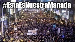 Convocades manifestacions a tot Espanya contra la sentència de 'la Manada'