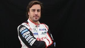 Fernando Alonso, en su última aparición en el Mundial de resistencia con el equipo Toyota.