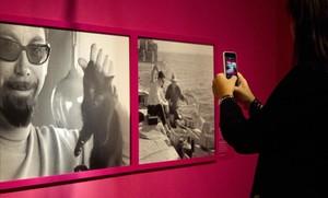 Fotografías de Baltasar Porcel por Toni Catany en la exposición del Palau Robert