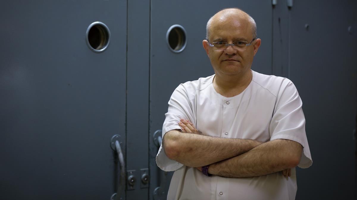 El psiquiatra Álvaro Muro, coordinador de la Unitat dHospitalització Psiquiàtrica Penitenciària de Brians 1.