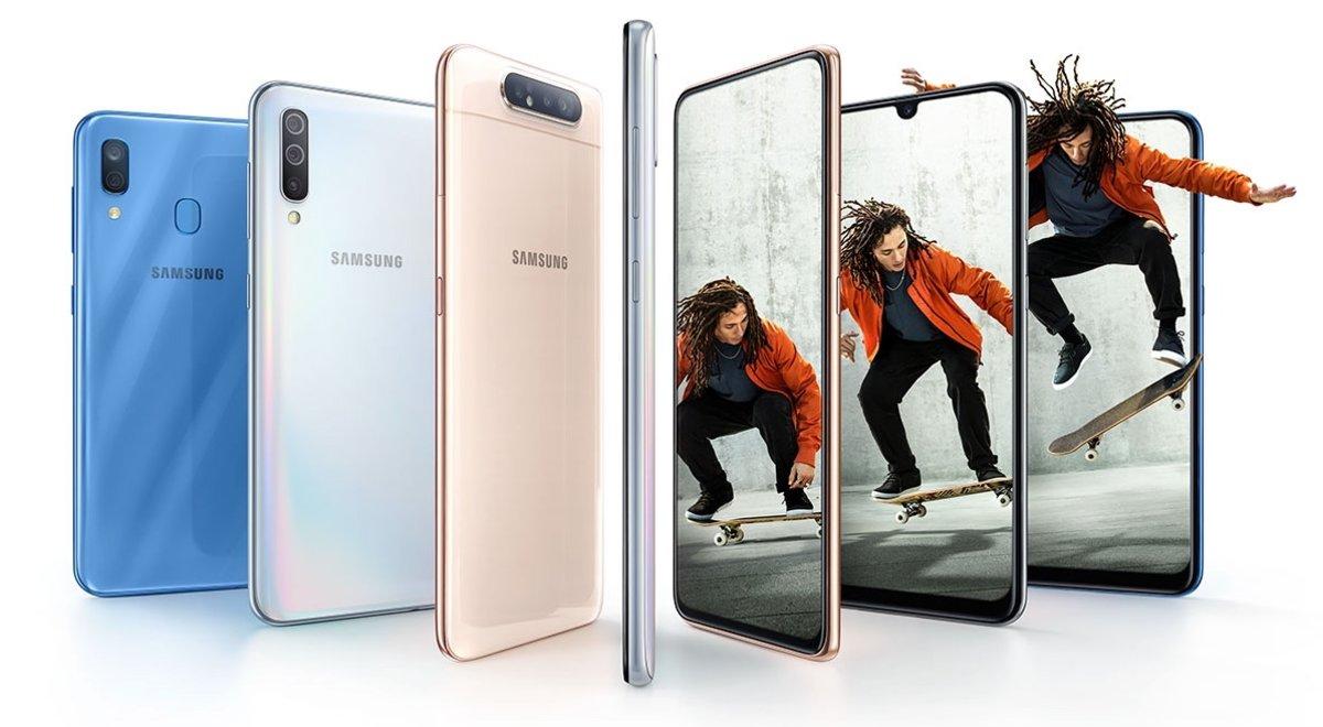 Samsung completa la seva gamma de 'smartphones' sèrie A amb els models A10 i A20e