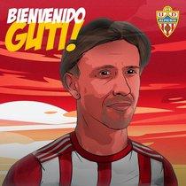 L'Almeria fitxa Guti i el converteix en un tècnic 'superstar'