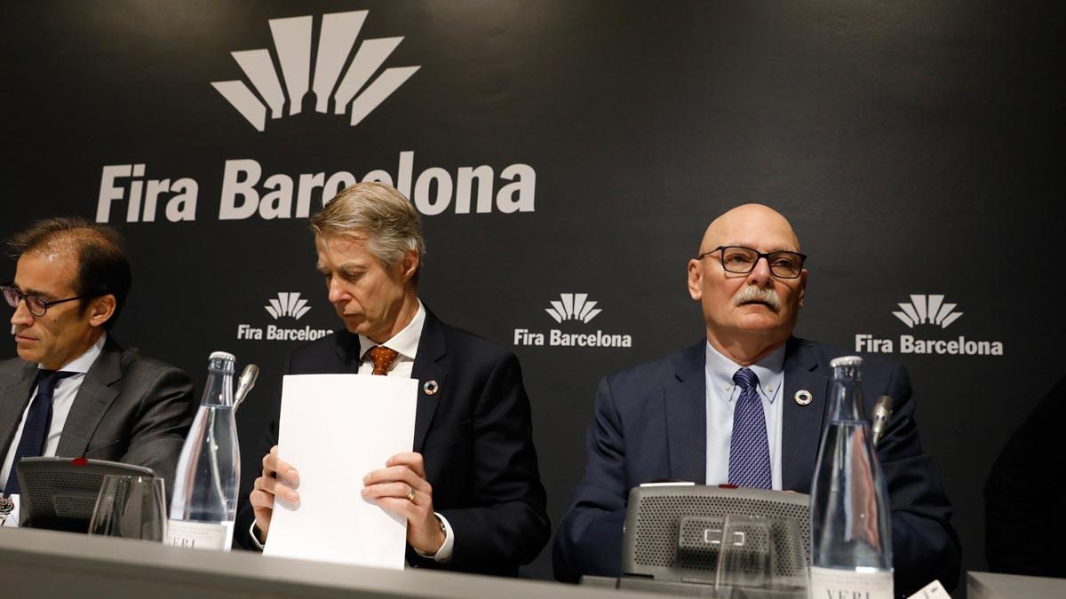 Hoffman, sobre el Mobile World Congress: Anhelamos estar aquí en Barcelona en el 2021.