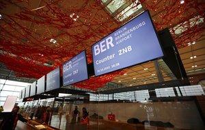 Imagen del nuevo aeropuerto Willy Brandt de Berlín.