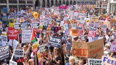Londres contra Trump