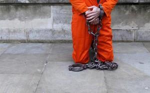 Imagen de un preso de Guantánamo.