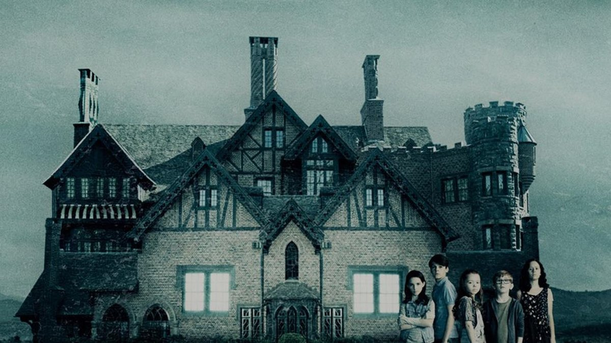 Imagen promocional de la adaptación televisiva de 'La maldición de Hill House'