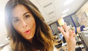 Nuria Roca en una fotografía publicada en su perfil de Instagram.
