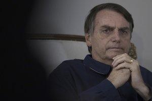 Jair Bolsonaro, el presidente de Brasil.APLeo Correa