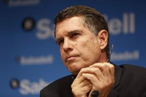 Jaume Guardiola, consejero delegado del Banc Sabadell.