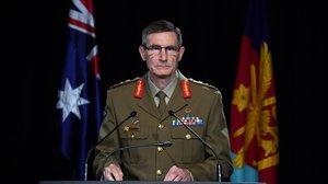 El jefe del Ejército australiano, Angus Campbell.