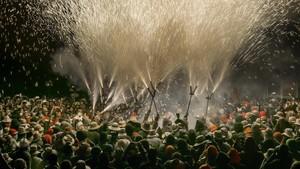 Els Diables de Cervera Carranquers quemarán450 kilos de pólvora, una cantidad superior a años anteriores