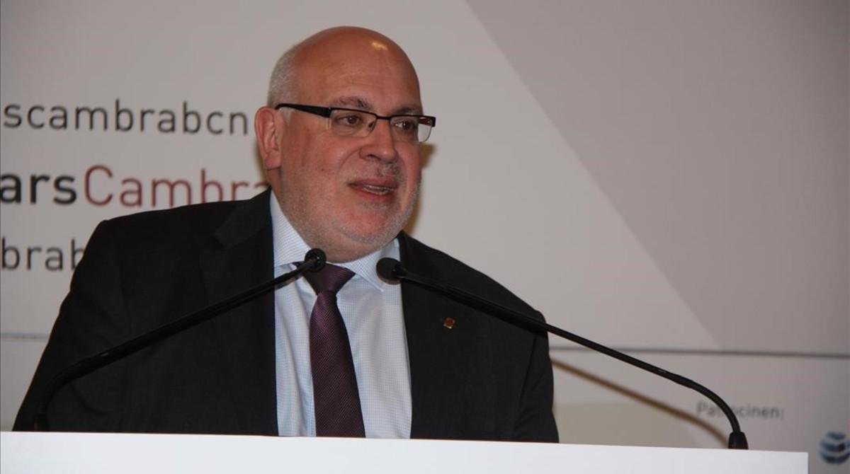 El exconseller de Empresa i Coneixement, Jordi Baiget.