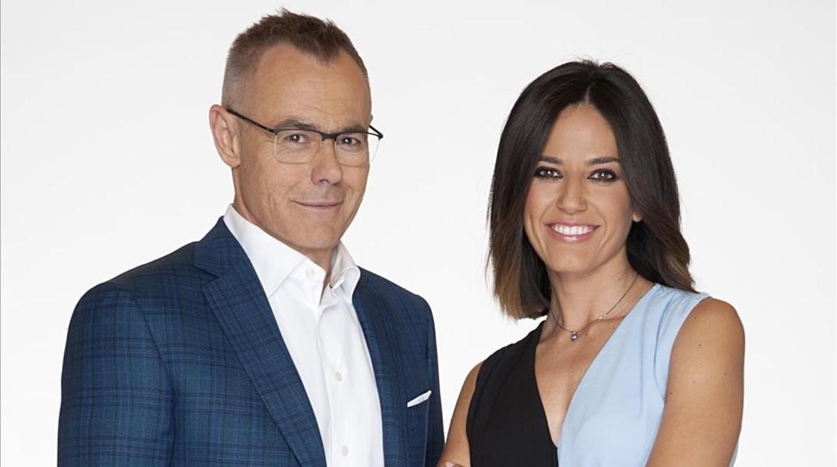 Jordi González y Nuria Marín, presentadores de Mad in Spain.