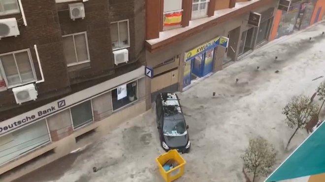 Fortes tempestes descarreguen a la Comunitat de Madrid i la província de Toledo