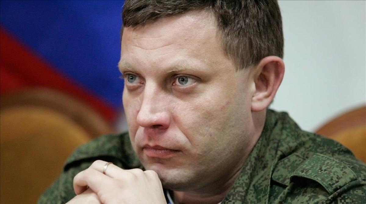 El líder de la autoproclamada república popular de Donetsk (RPD), Alexandr Zajarchenko.
