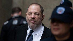 Harvey Weinstein, el pasado 25 de abril, en la Corte Suprema de Nueva York.