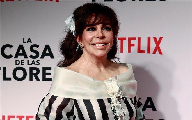 Verónica Castro ('La casa de las flores') es retira de la televisió