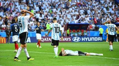 La Francia diabólica de Mbappé echa a Messi del Mundial