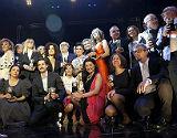 Los premiados han posado al final de la ceremonia que se ha celebrado en Madrid.