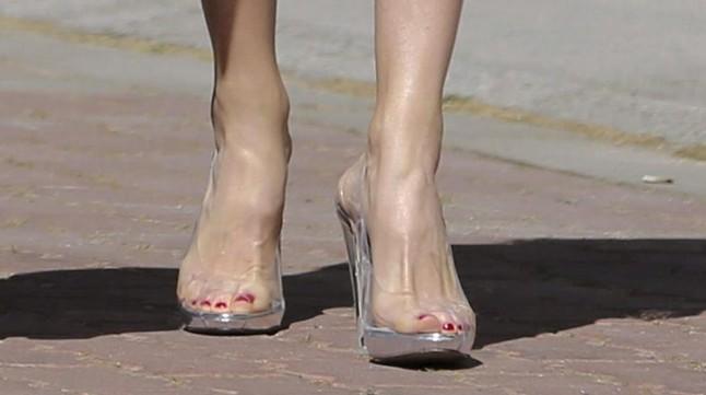 dfa78b34b5fe3 Letizia luce zapatos transparentes de vinilo